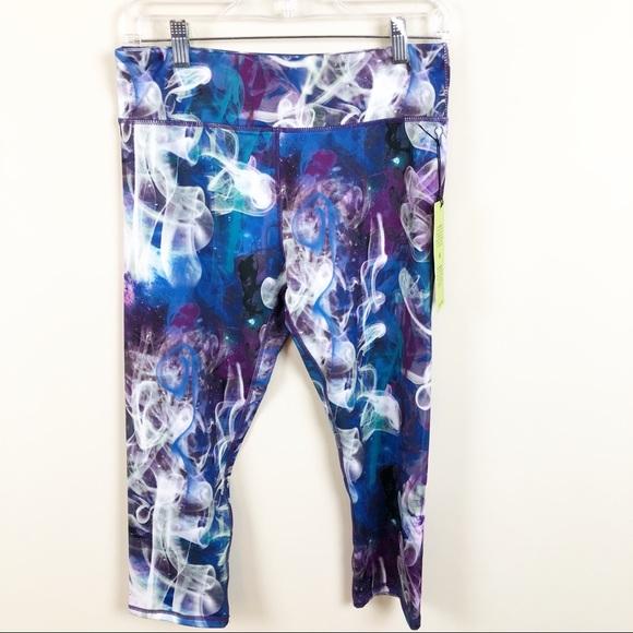 f4997ec8bc Kyodan Pants   Purple Space Dye Athletic Capri Yoga Pant   Poshmark